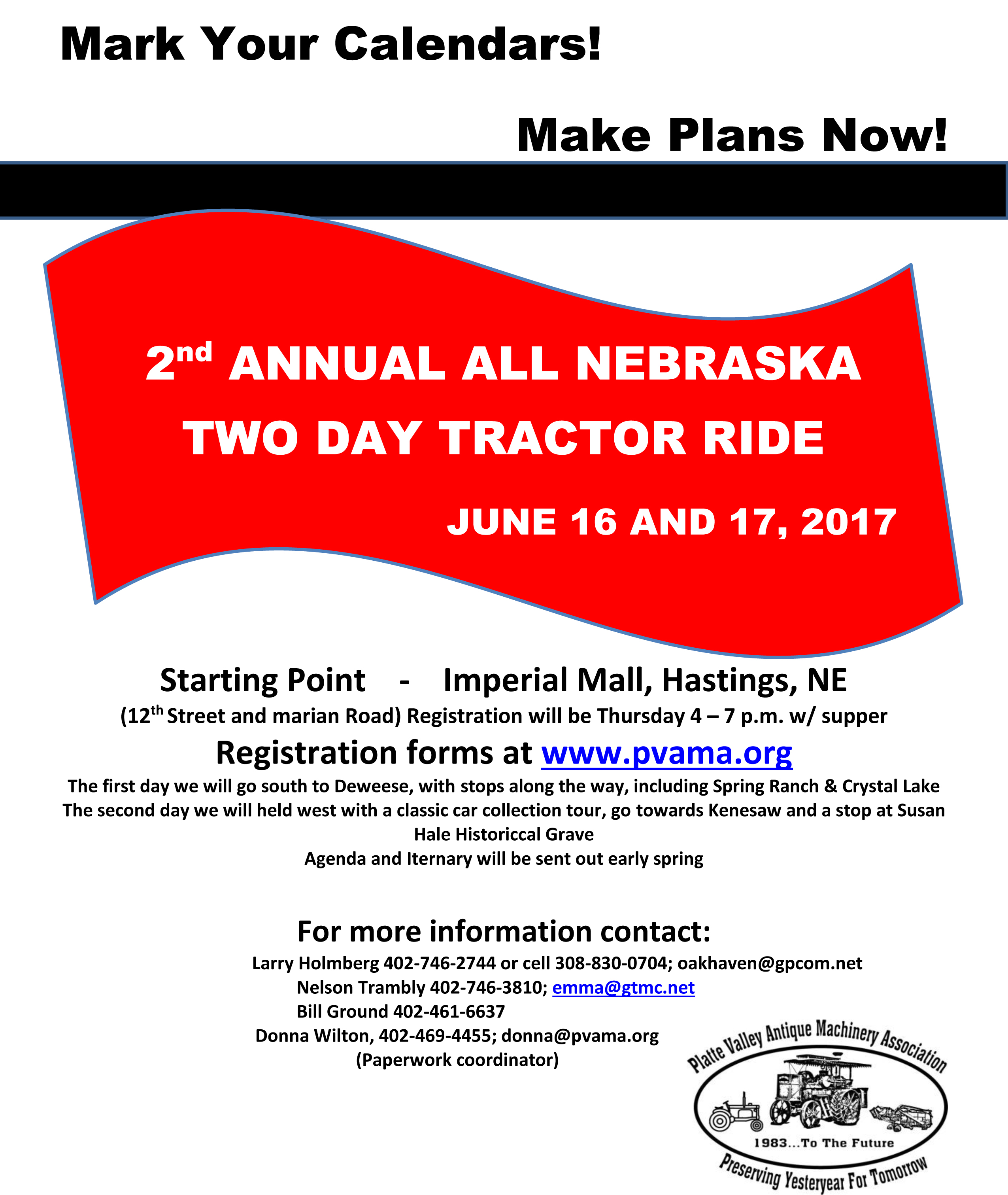 Nebraska adams county ayr 68925 - 2017 All Nebraska Tractor Drive
