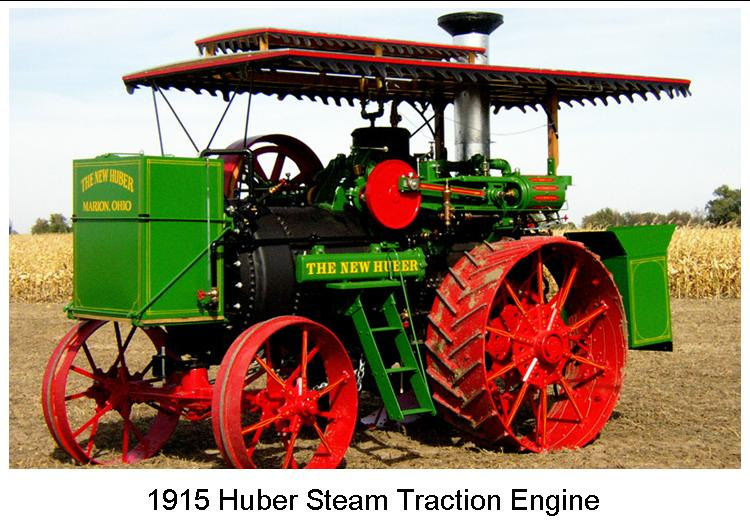 1916 Huber Steam Tractor
